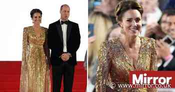 Kate Middleton and Prince William join Charles and Camilla at James Bond film premiere