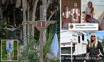 First look inside the campsite where Dog the Bounty Hunter claims Brian Laundrie is hiding out