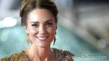 Kate Middleton Dazzles In A Glittering Gold Gown At The James Bond Premiere