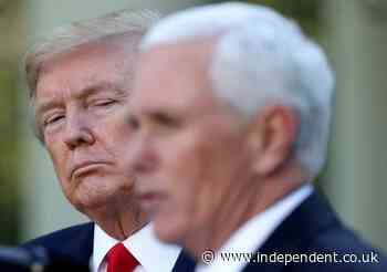 Trump refused anaesthesia for colonoscopy to avoid handing control to Pence, new book claims