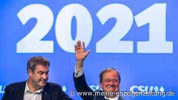 Bundestagswahl 2021: Laschetund Söder sind sich einig