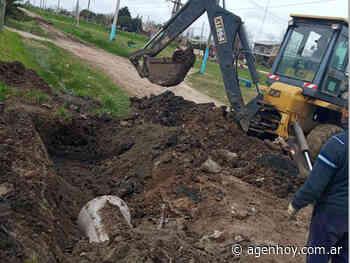 Labores de saneamiento hidráulico - agenhoy.com.ar