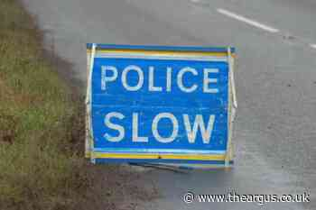 A22 closed both ways after single car accident at Ashurstwood