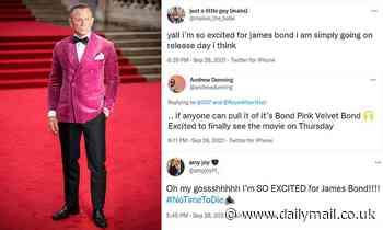 James Bond fans burst with excitement as Daniel Craig's last 007 film FINALLY hits the big screen