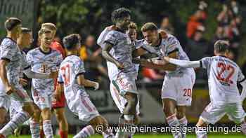 Matchwinner Nemanja Motika führt FC Bayern II in Schweinfurt mit vier Treffern zum Sieg
