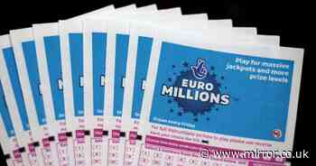 EuroMillions result: Tuesday's winning National Lottery numbers for £122million jackpot