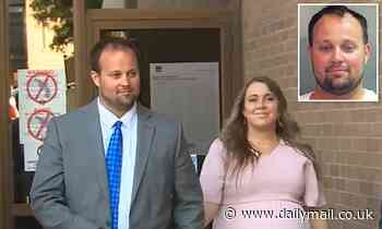 Josh Duggar is seen for first time since his release from prison on bond