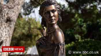 Italy: Statue of scantily-clad woman sparks sexism row
