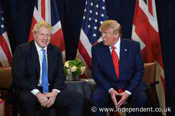 Trump and Boris Johnson spent meeting chatting about gallbladders and space, former aide says