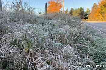 Frost advisory continues tonight