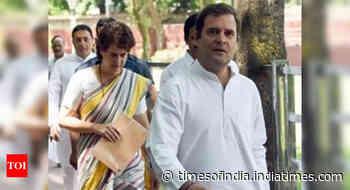 Gandhi siblings left red-faced amid efforts to rejig Congress