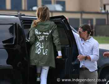 Melania aide claims Trump demanded 'what the f*** are you doing' after first lady wore infamous 'I don't care' jacket