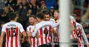 Sunderland 5-0 Cheltenham: Game at a glance as Black Cats crush the Robins to go top of table