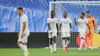 Alaba and Courtois 5/10 as Real Madrid suffer shock defeat