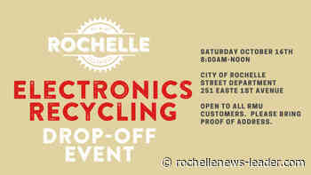 City electronics recycling event is Oct. 16 - Rochelle News Leader