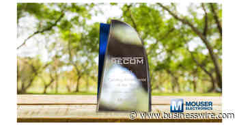 Mouser Electronics Named Catalog Distributor of the Year by RECOM - Business Wire