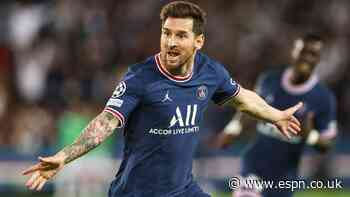 Messi lifts PSG past Guardiola's City in UCL win