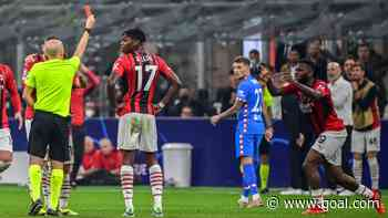 Champions League: Kessie sees red as AC Milan crumble to Kondogbia's Atletico Madrid