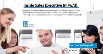 Inside Sales Executive (m/w/d) (Vollzeit | Cologne), Lloyd's Register Deutschland GmbH, Vertrieb und Handel, Stellenangebot - PresseBox