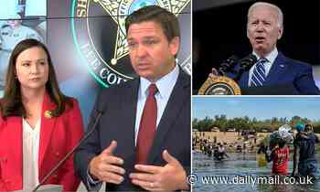 Florida SUES the Biden administration for the 'catch and release' border policy