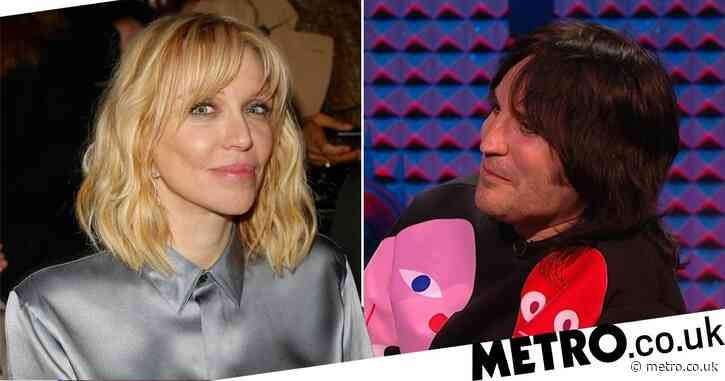 Noel Fielding reveals Courtney Love's savage dig on Never Mind The Buzzcocks