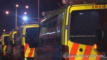 Coronavirus: Victoria's hospital system under strain as ambulances queue at Northern Hospital - 9News