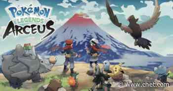 Pokemon Legends: Arceus - Every new Pokemon revealed so far     - CNET