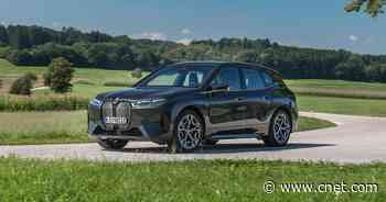 2022 BMW iX first drive review: A techy EV with an eye on design     - Roadshow