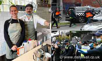 Covid-19 Australia: Melbourne cafe owner trolled after raising money for injured police