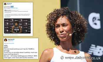 ESPN anchor Sage Steele slams Disney's 'sick' and 'scary' vaccine mandate for staff at the network