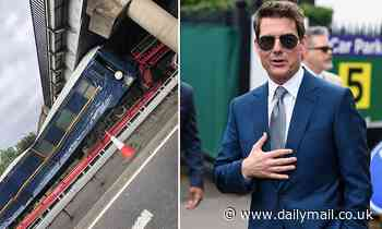 Mission Impossible faces fresh setback as train carriage gets stuck under low bridge