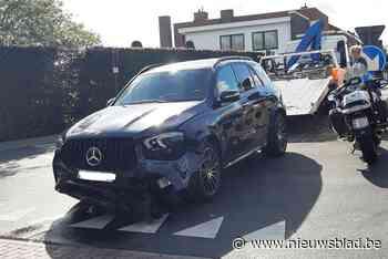 Twee lichtgewonden bij ongeval op kruispunt (Tielt) - Het Nieuwsblad