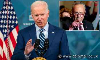 Biden CANCELS trip to Chicago to push vaccine mandates to lead negotiations over his $3.5T budget