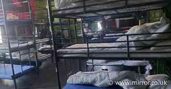 Asylum seekers 'crammed into 24-bed hostel rooms and forced to share' despite Covid risk
