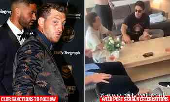 Two NRL stars to face the music over 'white powder' scandal in post season celebrations
