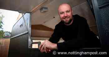 Clifton pylon painter set to launch street food van - in a former caravan - Nottinghamshire Live