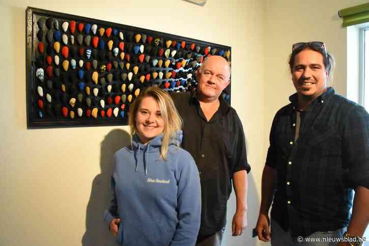 Mosselkunstwerk vertelt verhaal van Nino Seafood