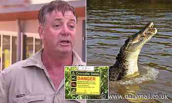 Darwin tour guide suffers heavy bleeding after being bitten by 'little croc' on Adelaide River