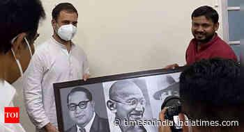 Congress gets Kanhaiya; Mevani's support