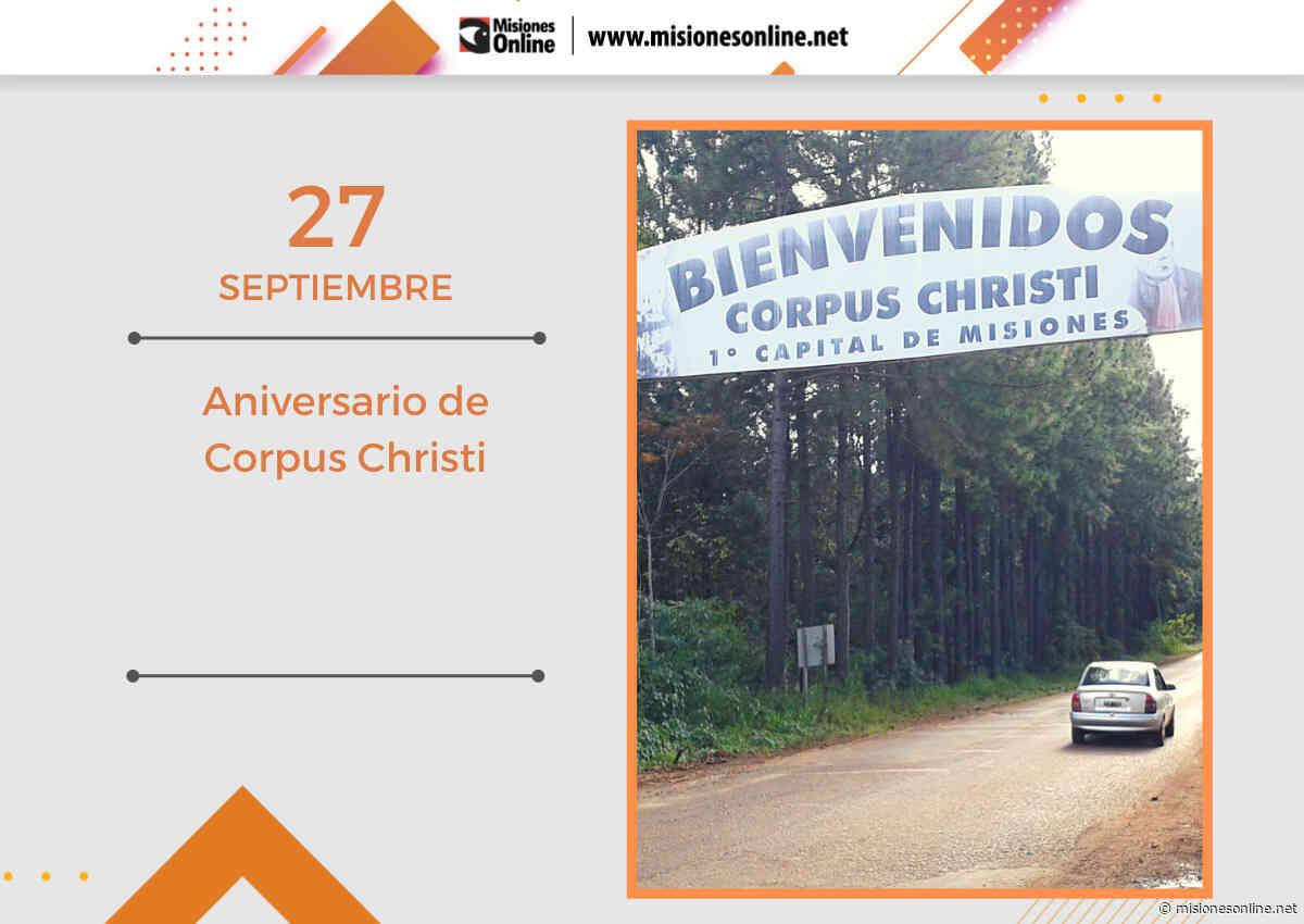 Hoy el municipio de Corpus Christi celebra el aniversario 144 de su fundación - Misiones OnLine