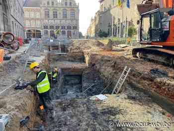 Archeologen vinden sporen van oud vleeshuis in Ieper - Focus en WTV