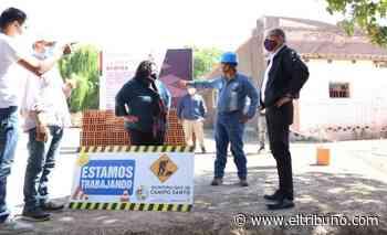 Agua potable para 70 familias, una nueva plaza en Betania y adoquinado en Cobos - El Tribuno.com.ar