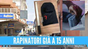Colpo al Sebòn tra Giugliano e Villaricca, i due rapinatori hanno 15 e 16 anni: figlio del titolare colpito alla testa con una spranga - Internapoli