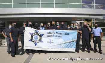 Stony Mountain correctional officers rally for blood drive - Winnipeg Free Press