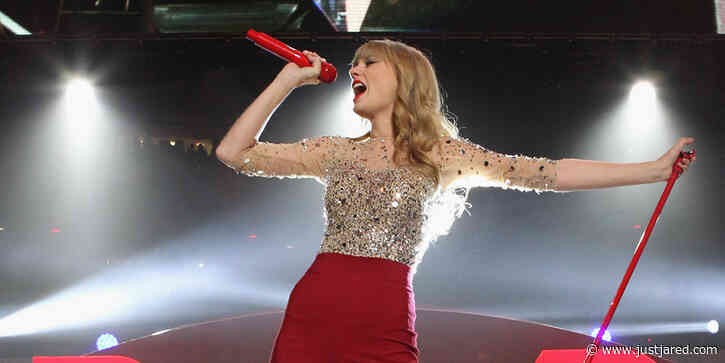 Taylor Swift Is Releasing 'Red (Taylor's Version)' a Week Early!