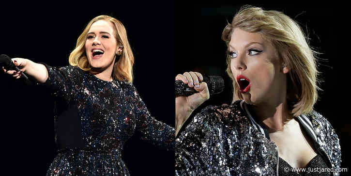 The Internet Thinks They Know Why Taylor Swift Bumped Her Album Up: Adele!