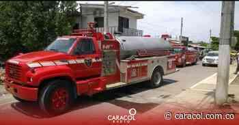 Ocho días completan los bomberos de Flandes en cese de actividades - Caracol Radio