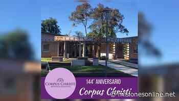 Aniversario de Corpus Christi: el intendente destacó la refacción de las escuelas y la red de agua y energía - Misiones OnLine