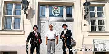Wandergesellen auf der Reise durch die Prignitz - Märkische Allgemeine Zeitung