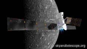 BepiColombo to Fly By Mercury Tonight